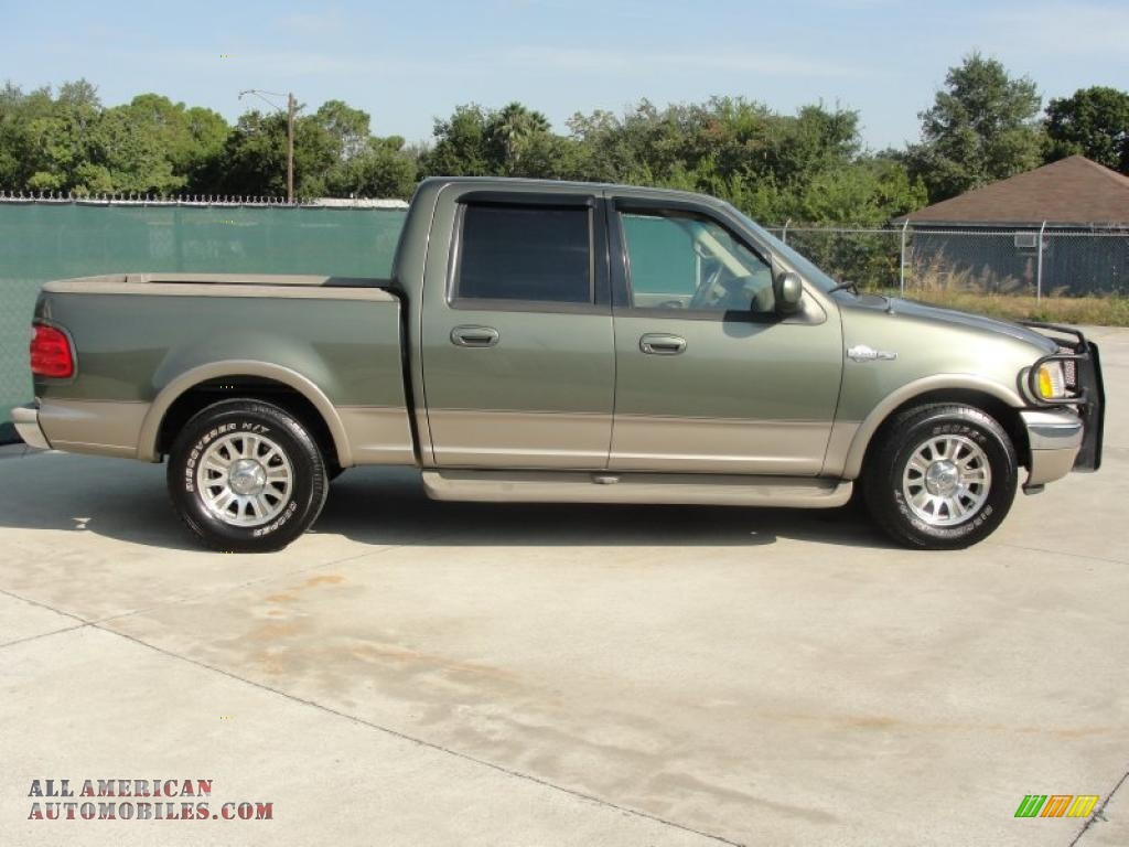 2001 ford f150 king ranch supercrew in estate green metallic photo 2. Cars Review. Best American Auto & Cars Review