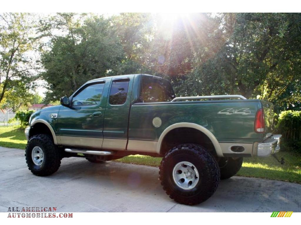 2000 ford f150 lariat extended cab 4x4 in amazon green metallic photo 4 a20797 all american. Black Bedroom Furniture Sets. Home Design Ideas