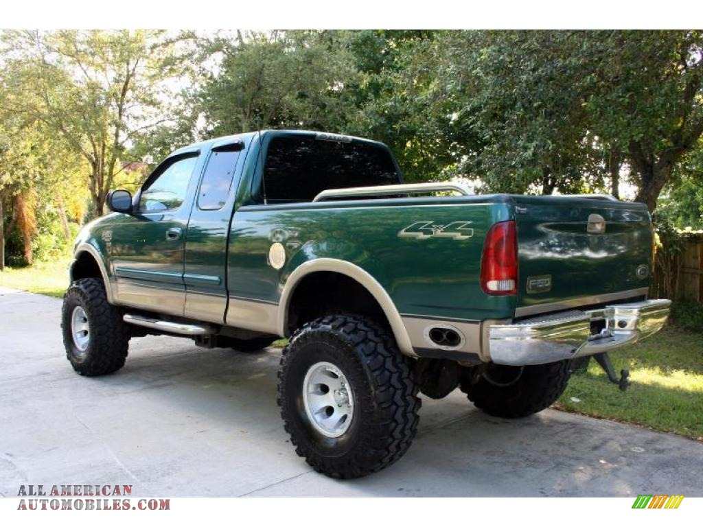 2000 Ford F150 Lariat Extended Cab 4x4 In Amazon Green
