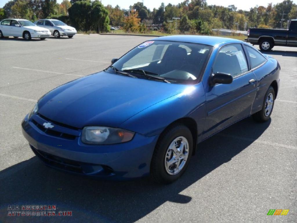 2005 chevrolet cavalier coupe in arrival blue metallic 155633 all. Cars Review. Best American Auto & Cars Review