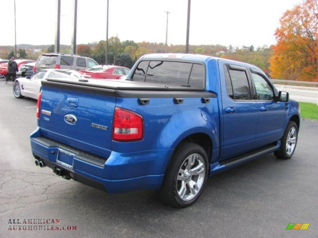 2010 ford explorer sport trac adrenalin awd in blue flame metallic photo 9 f00697 all. Black Bedroom Furniture Sets. Home Design Ideas