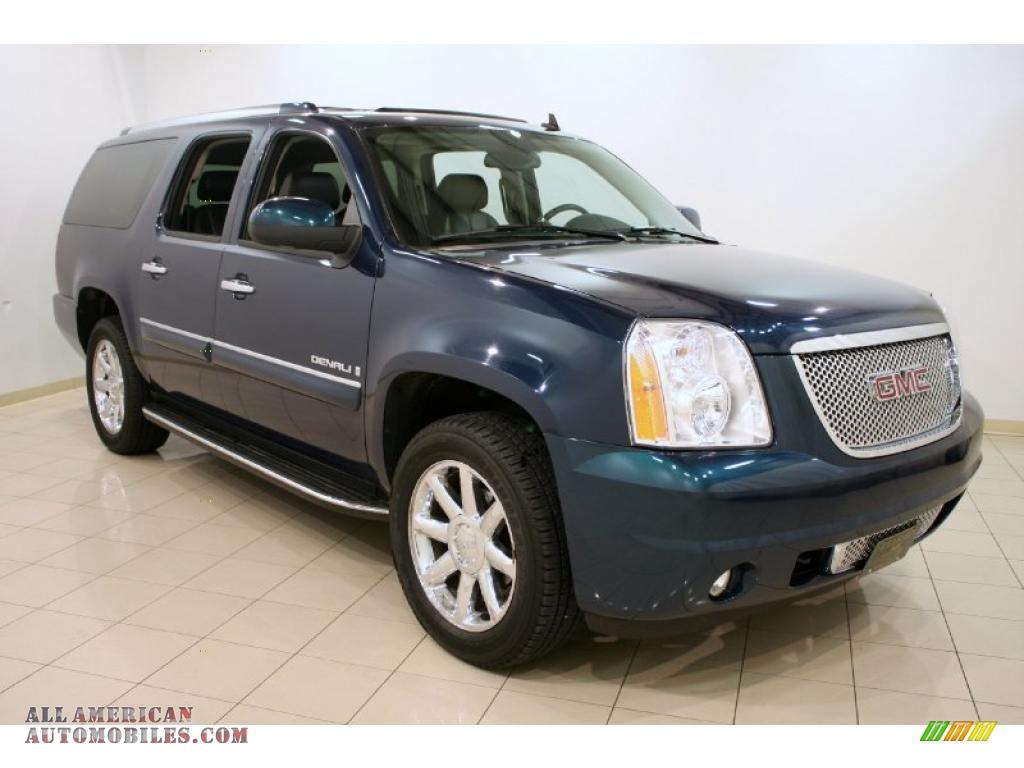 2007 Gmc Yukon Xl Denali Awd In Blue Green Crystal 318051 All American Automobiles Buy American Cars For Sale In America