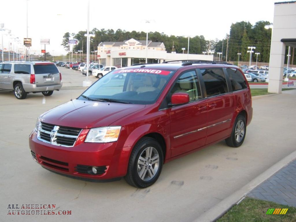 2009 dodge grand caravan sxt in inferno red crystal pearl 632258 all american automobiles. Black Bedroom Furniture Sets. Home Design Ideas