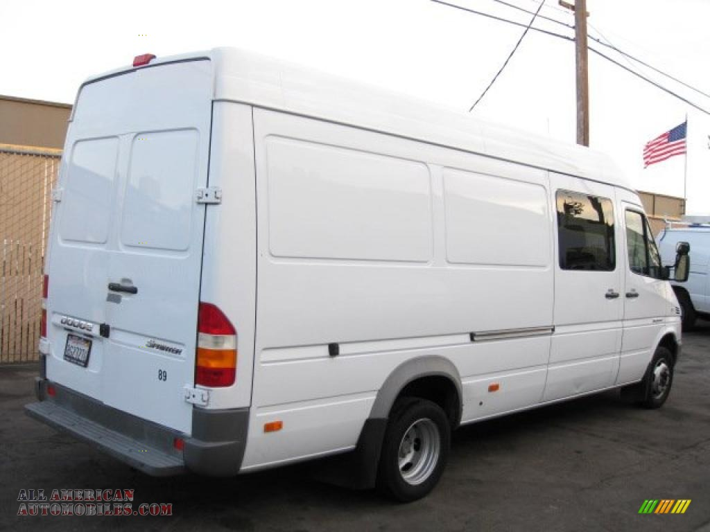 2006 dodge sprinter van 3500 high roof cargo in arctic white photo 3 963324 all american. Black Bedroom Furniture Sets. Home Design Ideas