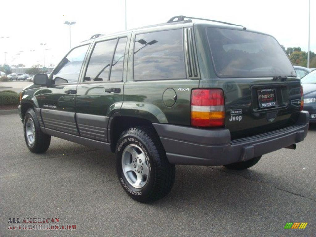 1996 jeep grand cherokee laredo 4x4 in moss green metallic photo 4. Cars Review. Best American Auto & Cars Review