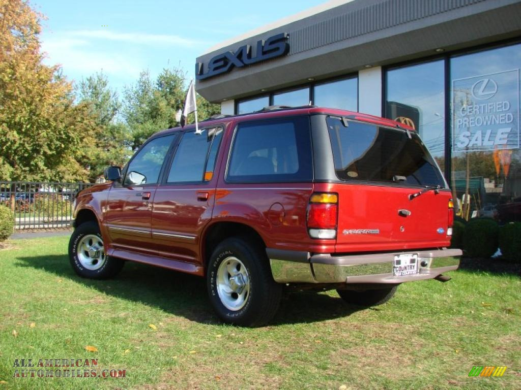 1997 ford explorer eddie bauer 4x4 in toreador red metallic photo 2 a92682 all american. Black Bedroom Furniture Sets. Home Design Ideas