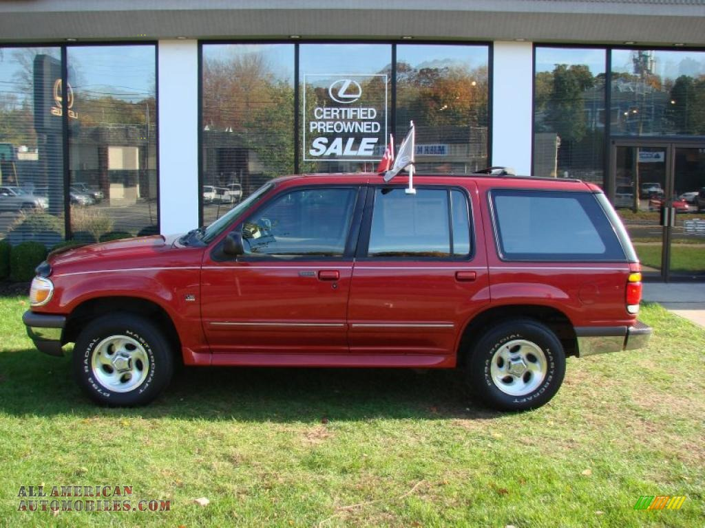 1997 ford explorer eddie bauer 4x4 in toreador red metallic photo 16 a92682 all american. Black Bedroom Furniture Sets. Home Design Ideas