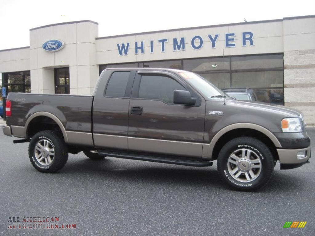 2005 ford f150 lariat supercab 4x4 in dark stone metallic a26774. Black Bedroom Furniture Sets. Home Design Ideas