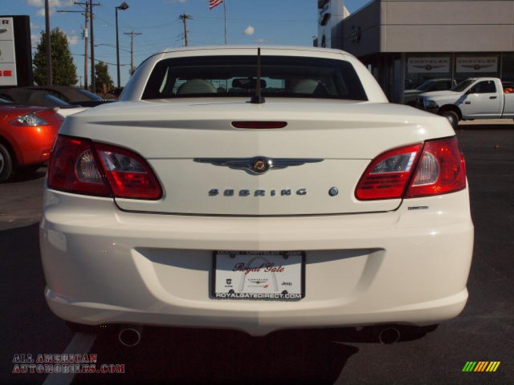 2008 Chrysler Sebring Limited Hardtop Convertible In Stone