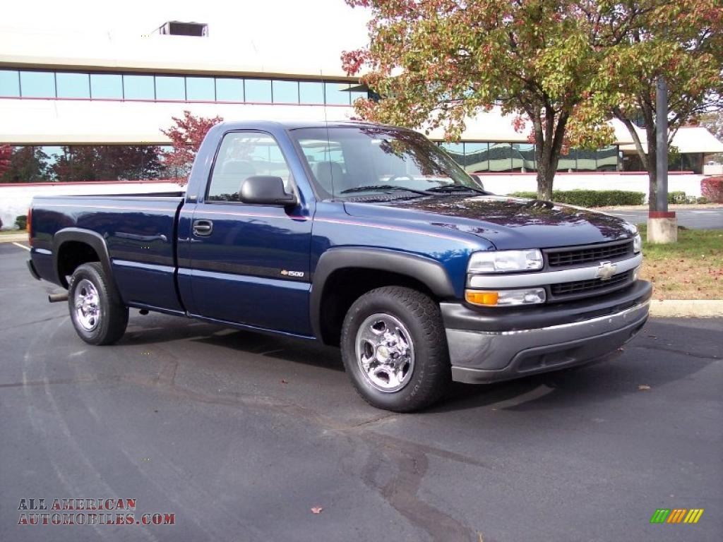 2000 chevrolet silverado 1500 regular cab in indigo blue metallic photo 7 296395 all. Black Bedroom Furniture Sets. Home Design Ideas