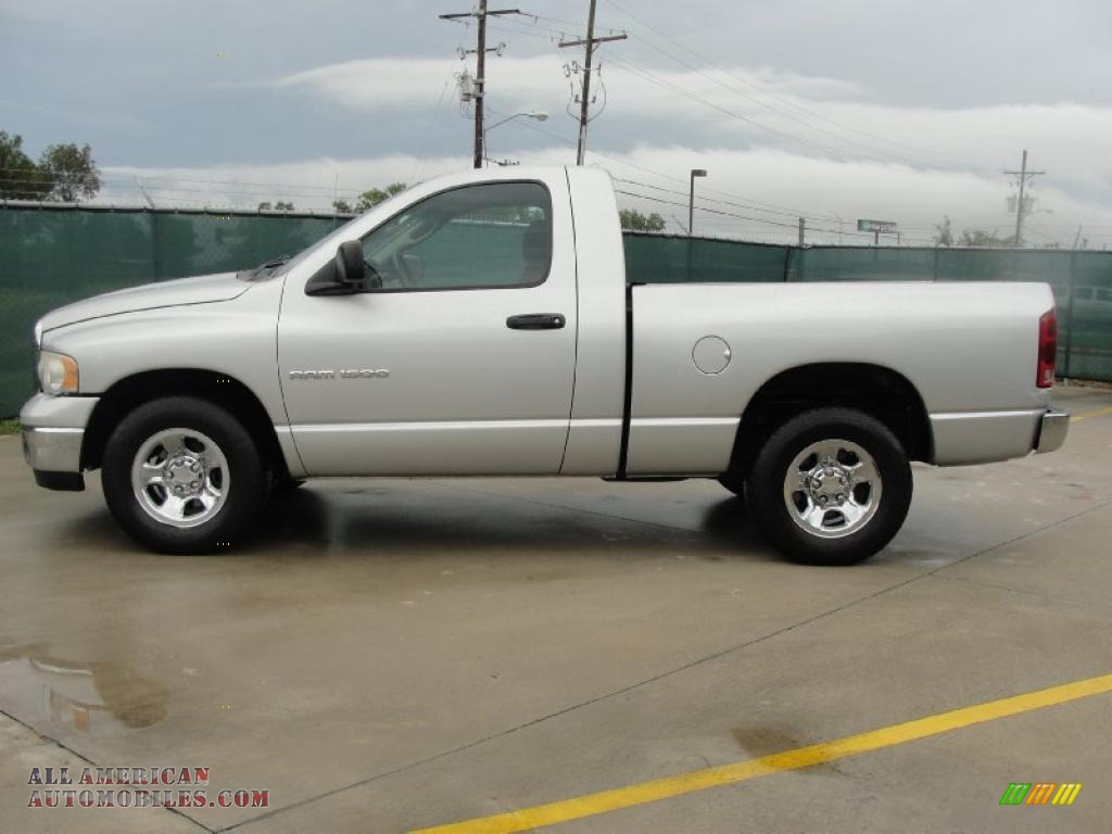 2003 dodge ram 1500 slt regular cab in bright silver metallic photo 6 560121 all american. Black Bedroom Furniture Sets. Home Design Ideas