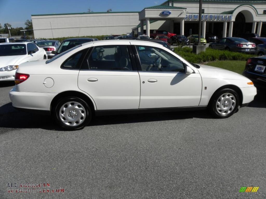 2001 Saturn L Series L200 Sedan In Cream White Photo 3