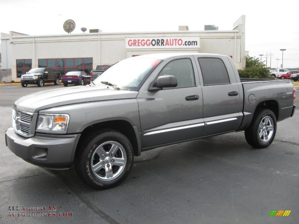 Lewis Auto Sales >> 2008 Dodge Dakota Laramie Crew Cab 4x4 in Mineral Gray Metallic - 622717 | All American ...