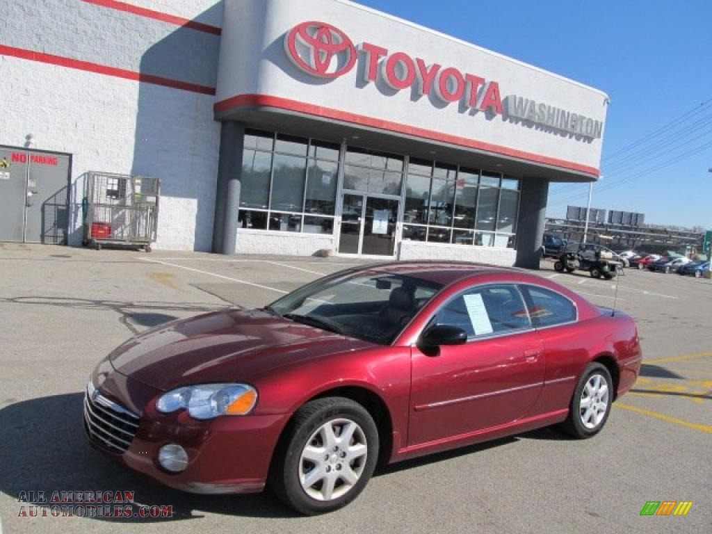 2004 Chrysler Sebring Coupe in Deep Red Pearl - 084059 | All American ...