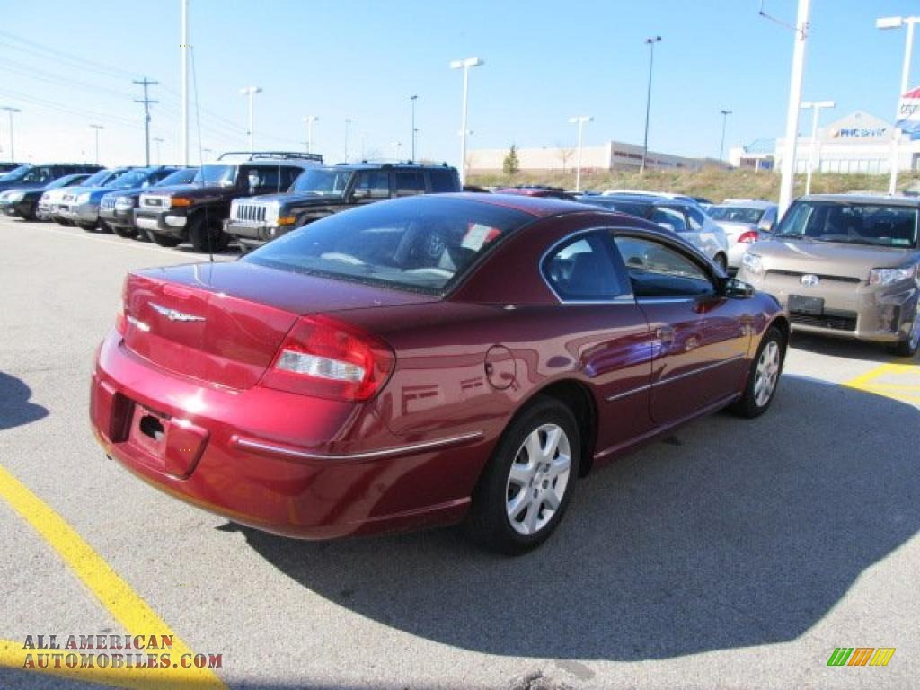 2004 chrysler sebring coupe in deep red pearl photo 6. Black Bedroom Furniture Sets. Home Design Ideas