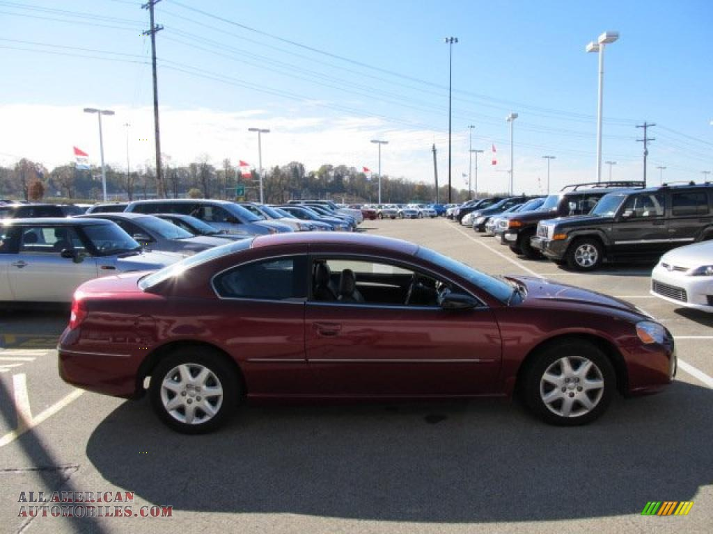 2004 chrysler sebring coupe in deep red pearl photo 7. Black Bedroom Furniture Sets. Home Design Ideas
