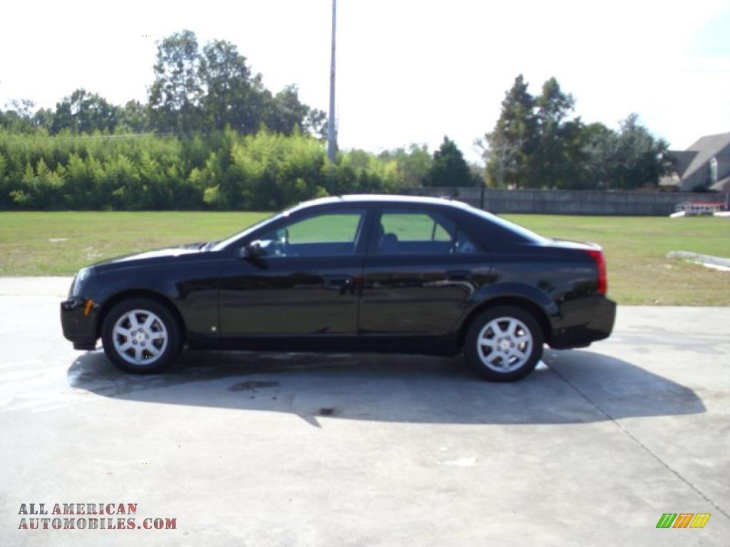 2007 Cadillac CTS Sedan in Black Raven - 156288   All ...
