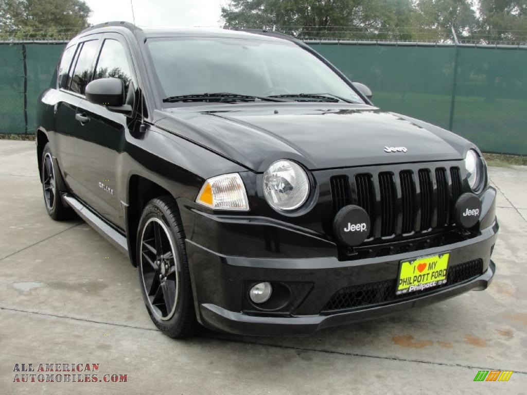 2008 jeep compass rallye in brilliant black crystal pearl 693070 all american automobiles. Black Bedroom Furniture Sets. Home Design Ideas
