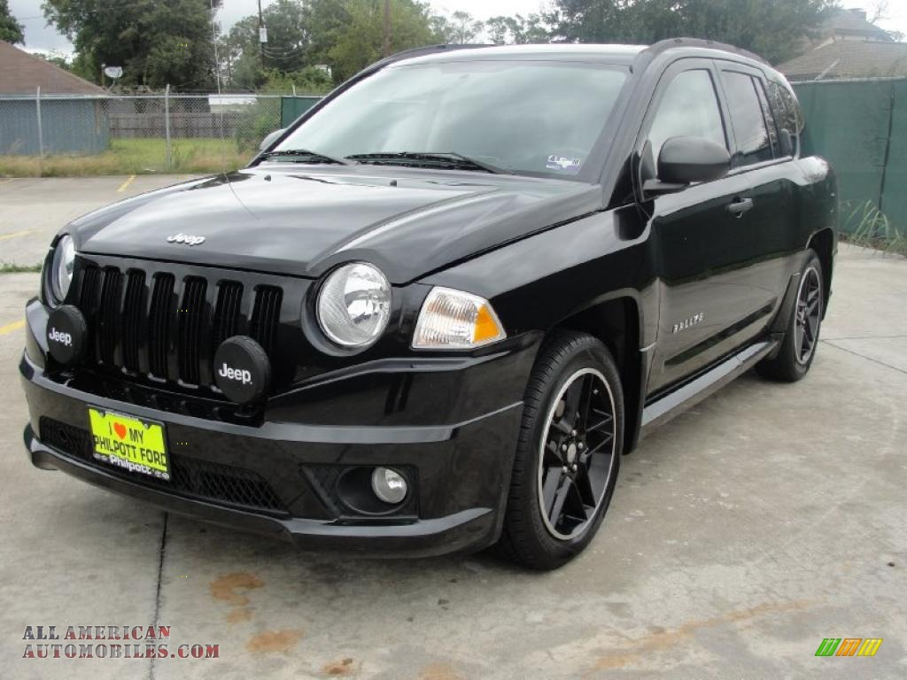 2008 jeep compass rallye in brilliant black crystal pearl photo 7 693070 all american. Black Bedroom Furniture Sets. Home Design Ideas