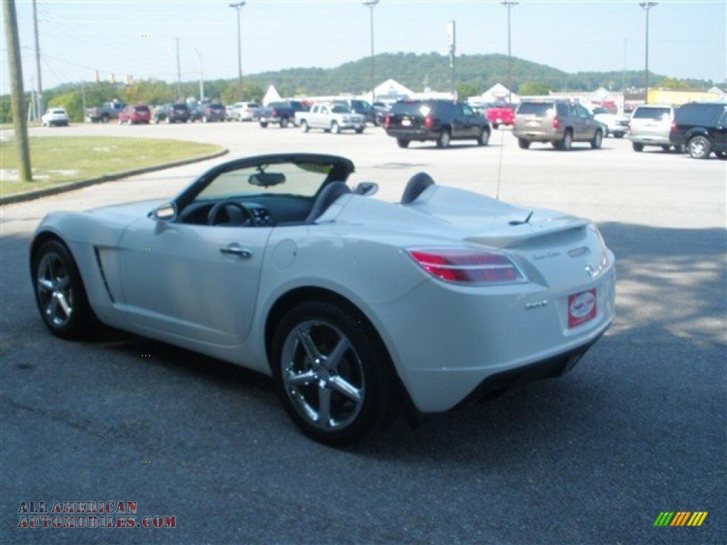 2007 saturn sky red line roadster in polar white photo 5 133517 all american automobiles. Black Bedroom Furniture Sets. Home Design Ideas