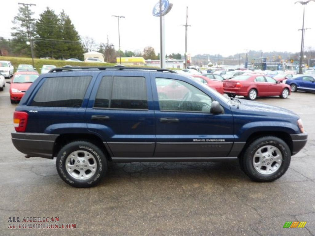 2000 Jeep Grand Cherokee Laredo 4x4 in Patriot Blue ...