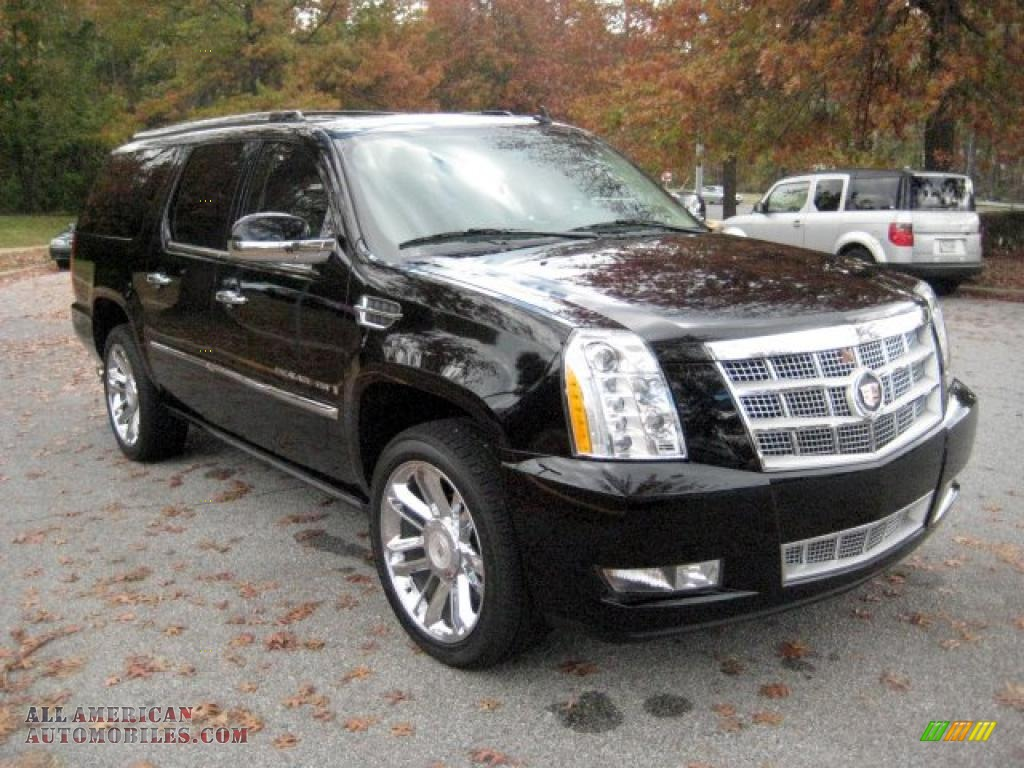 2009 cadillac escalade esv platinum awd in black raven photo 6 155700 all american. Black Bedroom Furniture Sets. Home Design Ideas