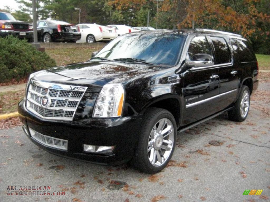 2009 cadillac escalade esv platinum awd in black raven photo 8 155700 all american. Black Bedroom Furniture Sets. Home Design Ideas