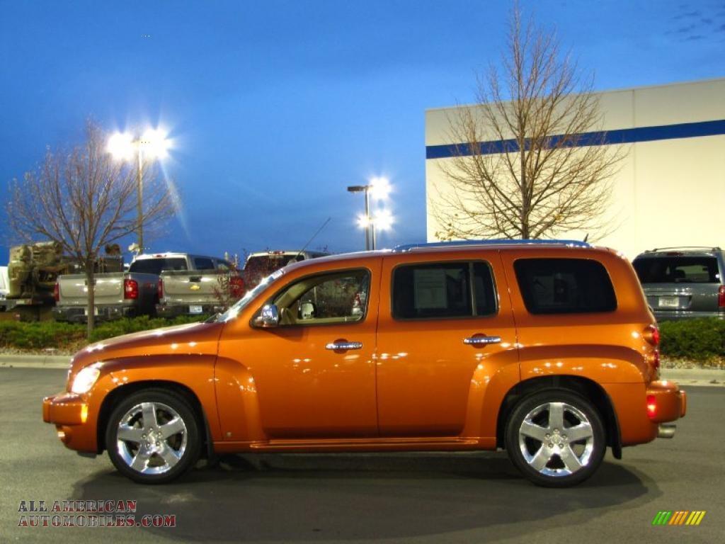 2006 Chevrolet Hhr Lt In Sunburst Orange Ii Metallic Photo 16