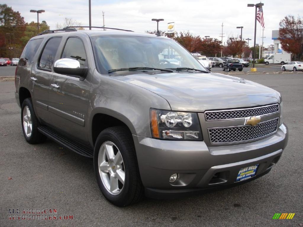 2008 chevrolet tahoe ltz 4x4 in graystone metallic photo 3 151645 all american automobiles. Black Bedroom Furniture Sets. Home Design Ideas
