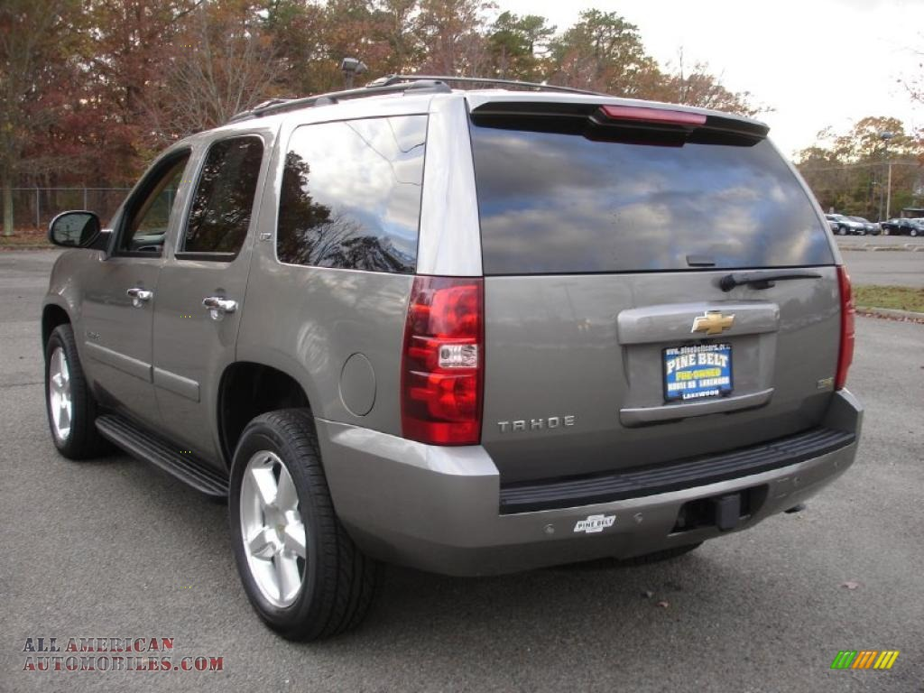 2008 chevrolet tahoe ltz 4x4 in graystone metallic photo 6 151645 all american automobiles. Black Bedroom Furniture Sets. Home Design Ideas