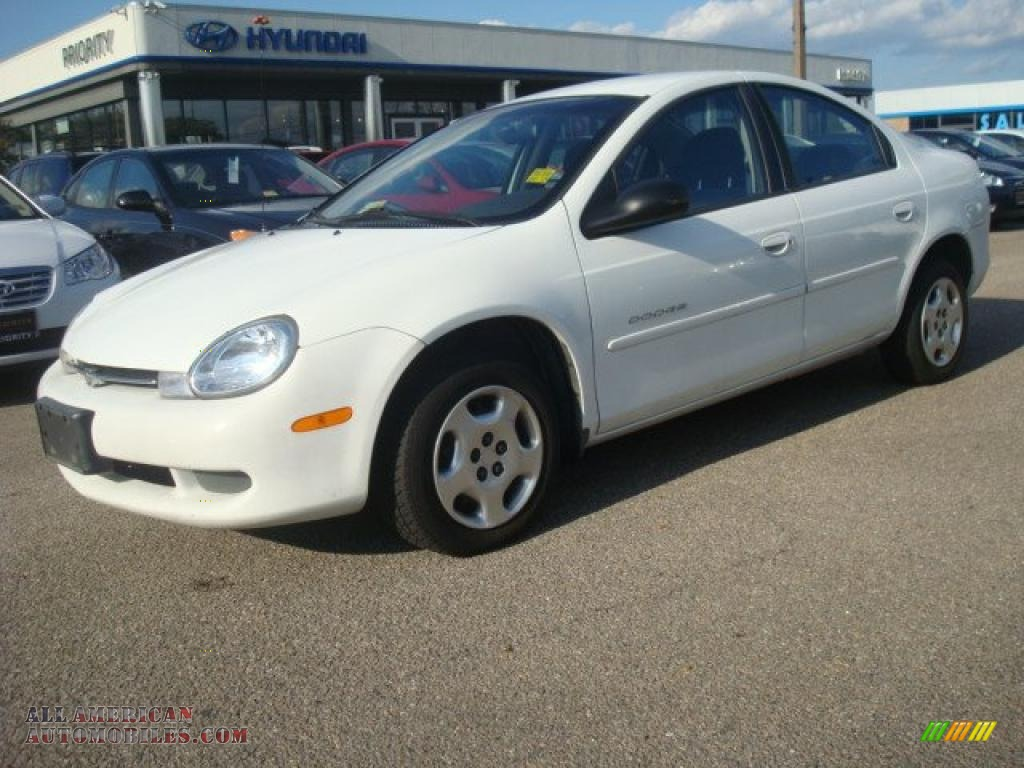 Pine Belt Cadillac >> 2000 Dodge Neon Highline in Bright White photo #2 - 804727 ...