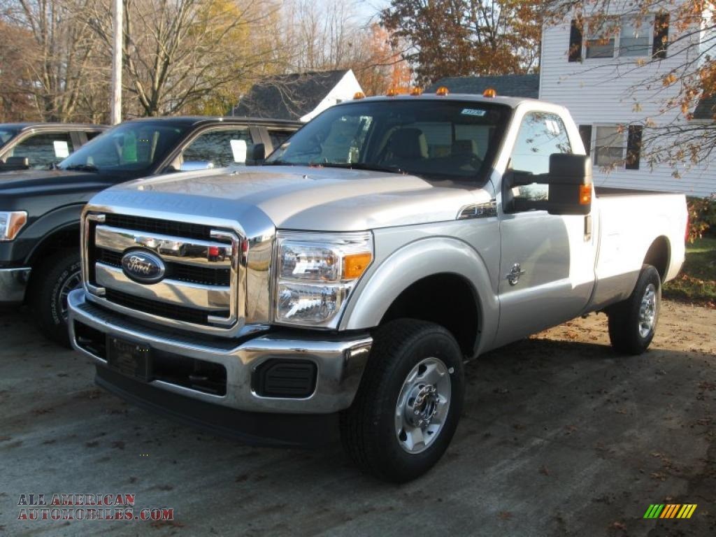 2011 Ford F250 Super Duty Xlt Regular Cab 4x4 In Ingot Silver Metallic B47629 All American Automobiles Buy American Cars For Sale In America