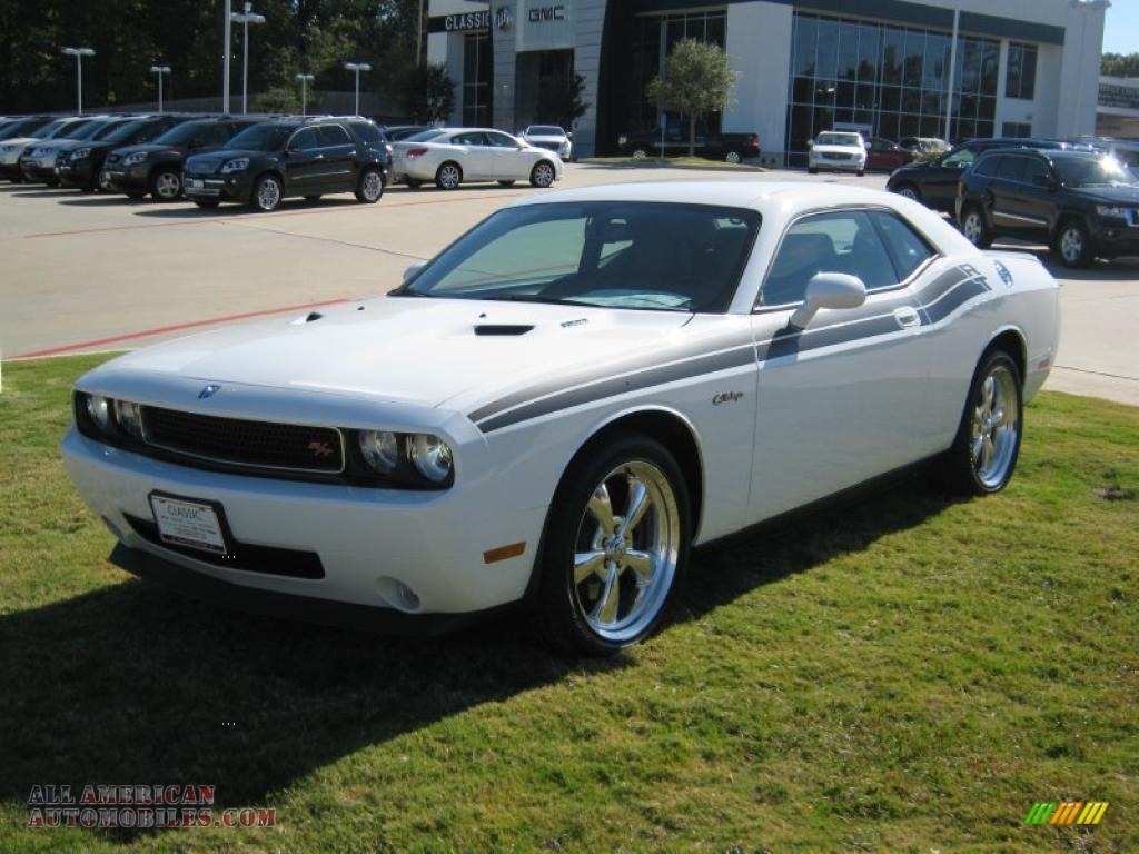 2010 dodge challenger r t classic in stone white 265314 all american automobiles buy. Black Bedroom Furniture Sets. Home Design Ideas