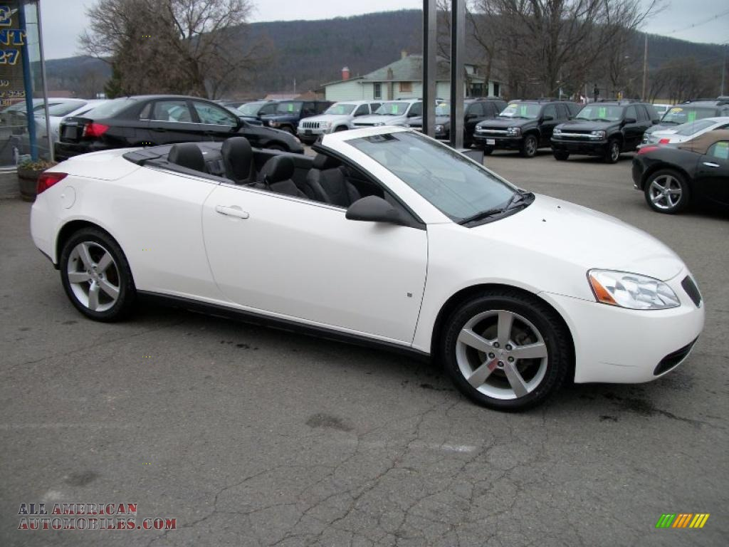 2007 pontiac g6 gt convertible in ivory white photo 7 131756 all american automobiles buy. Black Bedroom Furniture Sets. Home Design Ideas