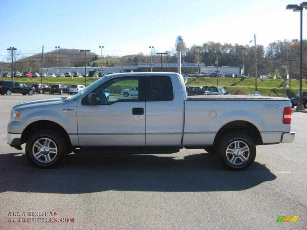 2007 ford f150 xlt supercab 4x4 in silver metallic photo 4 a19961 all american automobiles