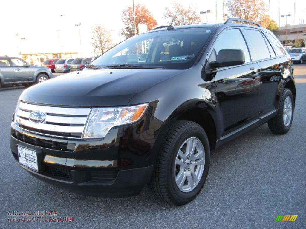 2008 Ford Edge Se In Black Photo 3 A10212 All
