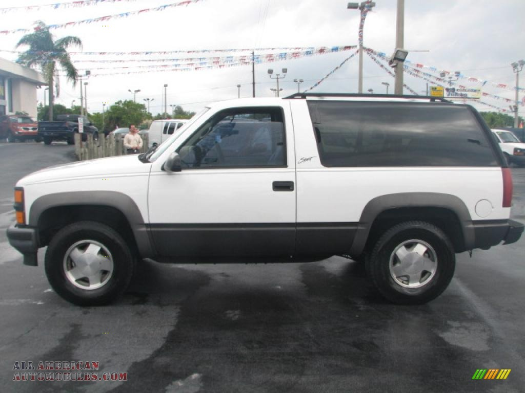 1996 chevrolet tahoe sport 4x4 in summit white photo 6 139211 all american automobiles. Black Bedroom Furniture Sets. Home Design Ideas