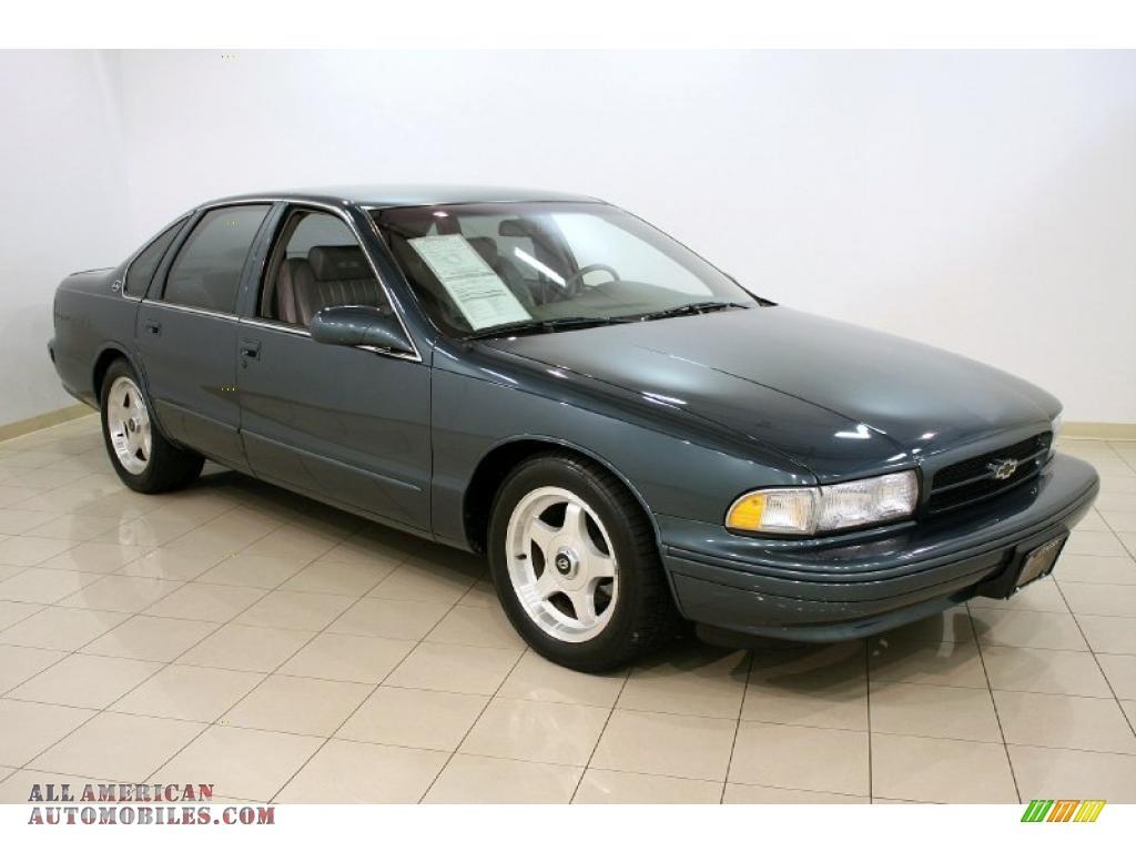 1996 Chevrolet Impala SS in Dark Gray Green Metallic ...