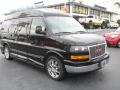 GMC Savana Van 1500 Explorer Conversion Van Onyx Black photo #1
