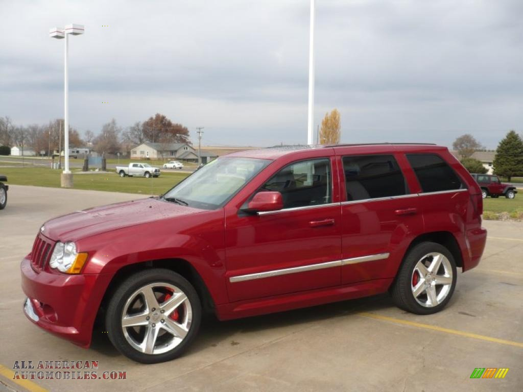 2010 jeep grand cherokee srt8 4x4 in inferno red crystal pearl photo 21 118446 all american. Black Bedroom Furniture Sets. Home Design Ideas