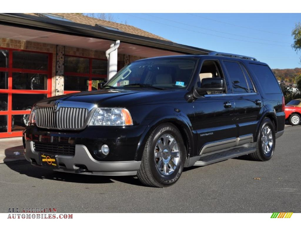 2004 lincoln navigator luxury 4x4 in black clearcoat j11775 all american automobiles buy. Black Bedroom Furniture Sets. Home Design Ideas