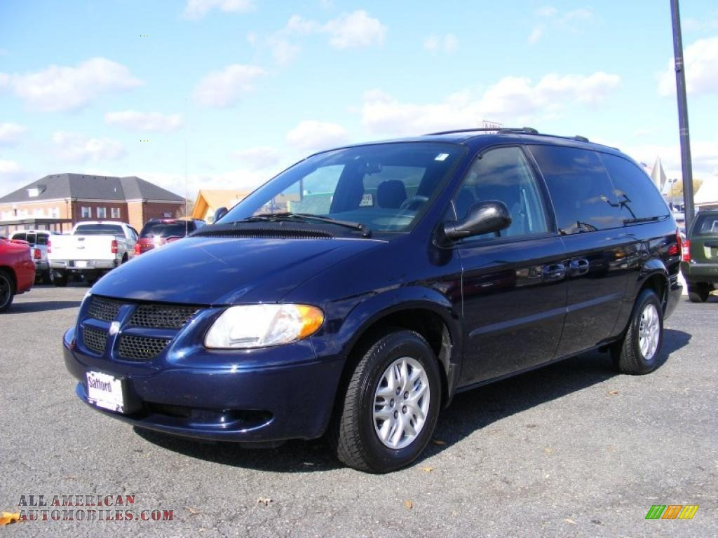 Springfield Buick Gmc >> 2003 Dodge Grand Caravan Sport in Midnight Blue Pearl photo #16 - 247854 | All American ...