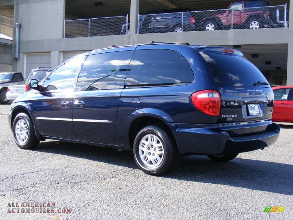 2003 Dodge Grand Caravan Sport In Midnight Blue Pearl