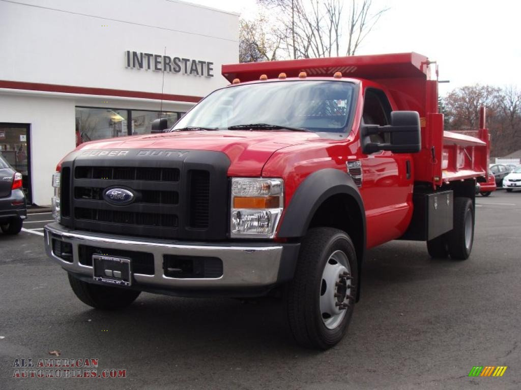 similiar new 2013 f550 dump truck keywords 2008 ford f550 super duty xl regular cab dump truck in red a36628
