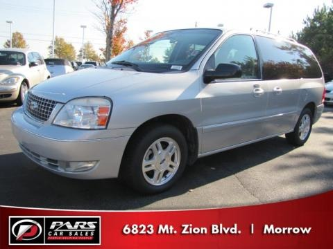 Silver Frost Metallic 2007 Ford Freestar SEL