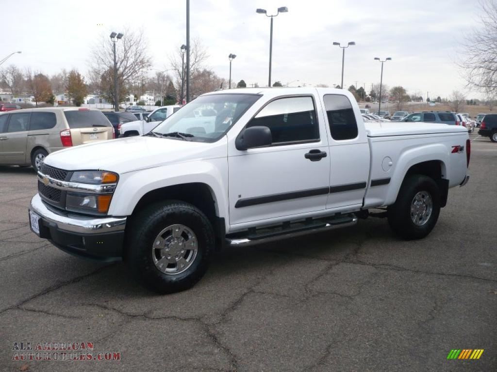 2007 Chevrolet Colorado Lt Extended Cab 4x4 In Summit