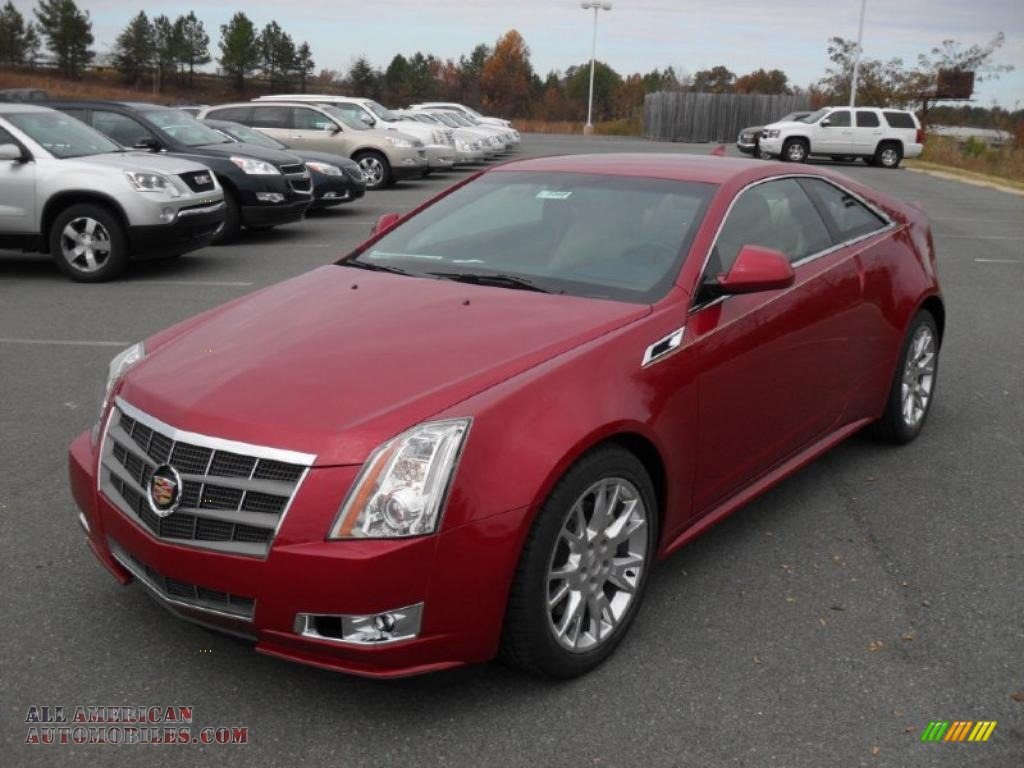 2011 Cadillac Cts Coupe In Crystal Red Tintcoat 127955 All American Automobiles Buy American Cars For Sale In America