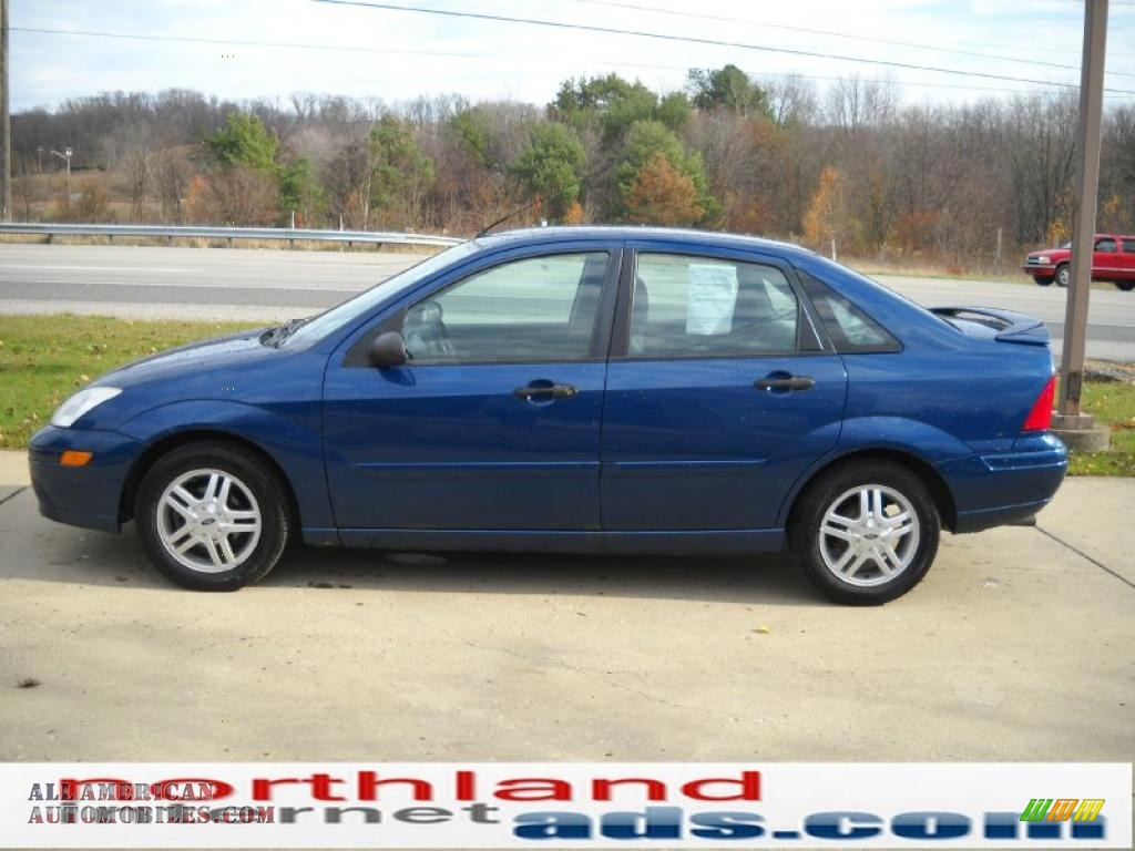 2000 ford focus se sedan in light sapphire blue metallic photo 5 420473 all american. Black Bedroom Furniture Sets. Home Design Ideas