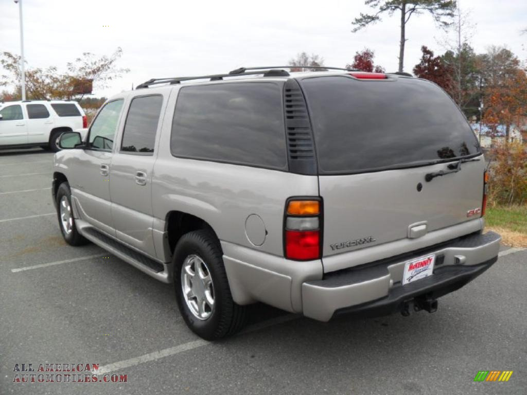2004 gmc yukon xl denali awd in silver birch metallic photo 2 241511 all american. Black Bedroom Furniture Sets. Home Design Ideas