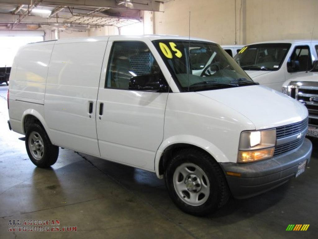 2005 chevrolet astro cargo van in summit white 132069 all american automobiles buy. Black Bedroom Furniture Sets. Home Design Ideas